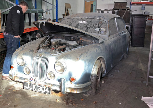 1962 Jaguar MK2 2.4 Automatic very special barn find SOLD (picture 1 of 6)