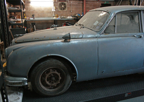 1962 Jaguar MK2 2.4 Automatic very special barn find SOLD (picture 2 of 6)
