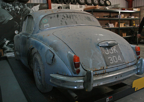 1962 Jaguar MK2 2.4 Automatic very special barn find SOLD (picture 5 of 6)