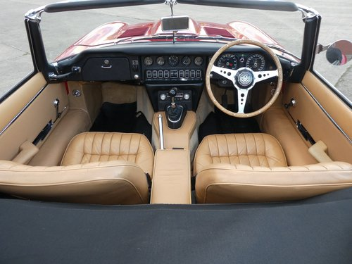 1968 Jaguar E Type Series 1.5  4.2 Roadster For Sale (picture 5 of 6)