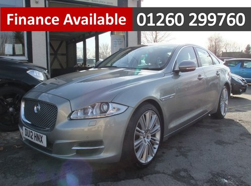 2012 JAGUAR XJ 3.0 D V6 PREMIUM LUXURY SWB 4DR AUTOMATIC SOLD (picture 1 of 6)