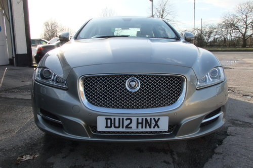 2012 JAGUAR XJ 3.0 D V6 PREMIUM LUXURY SWB 4DR AUTOMATIC SOLD (picture 4 of 6)