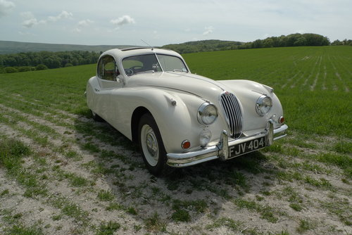 1955 Jaguar XK140 For Sale SOLD (picture 1 of 6)
