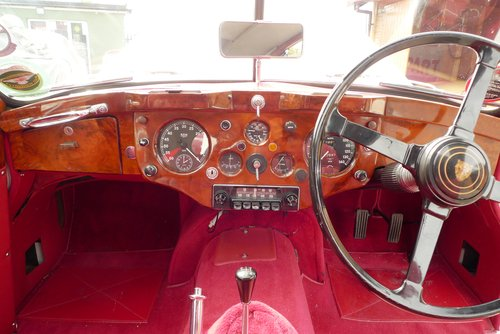 1955 Jaguar XK140 For Sale SOLD (picture 4 of 6)
