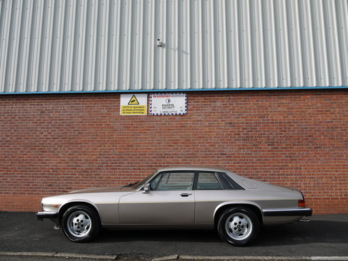1987 JAGUAR XJS V12 COUPE - OUTSTANDING CAR - HUGE EXPENDITURE !! SOLD (picture 3 of 6)