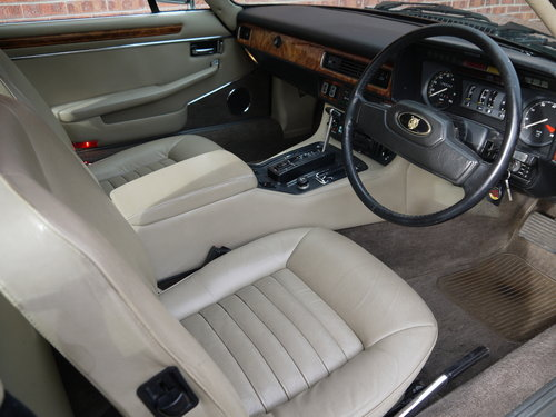 1987 JAGUAR XJS V12 COUPE - OUTSTANDING CAR - HUGE EXPENDITURE !! SOLD (picture 5 of 6)