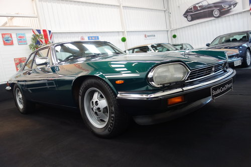 1984 1985 Jaguar XJ-SC in lovely condition. Excellent history  SOLD (picture 2 of 6)