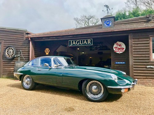 1969 JAGUAR E-TYPE S2 F.H.C SOLD (picture 1 of 6)