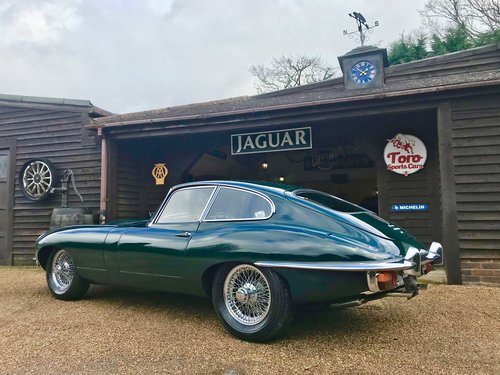 1969 JAGUAR E-TYPE S2 F.H.C SOLD (picture 2 of 6)