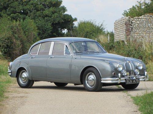 1964 Jaguar Mk2 4 Door Sports Saloon  SOLD (picture 1 of 6)