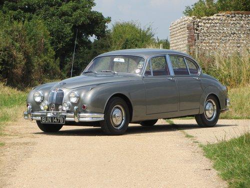 1964 Jaguar Mk2 4 Door Sports Saloon  SOLD (picture 2 of 6)