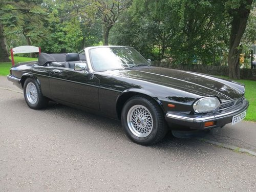 Jaguar XJS Convertible V12 1989  F Reg  Stunning Vehicle  For Sale (picture 1 of 6)