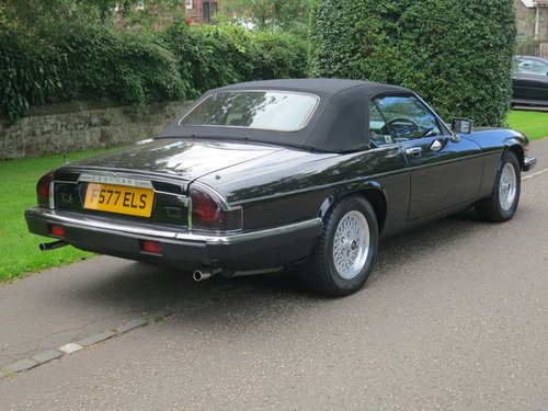 Jaguar XJS Convertible V12 1989  F Reg  Stunning Vehicle  For Sale (picture 3 of 6)