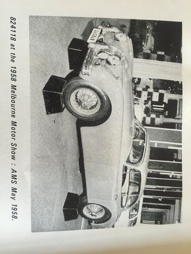 1957 JAGUAR XK150 SE 40,000 ORIGINAL MILES! NEW PRICE  For Sale (picture 6 of 6)