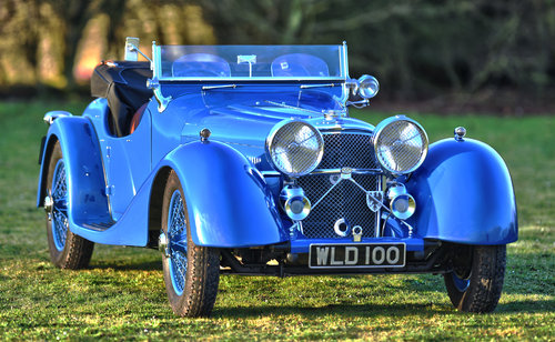 1938 Jaguar SS100 3.5 litre by Leonida & Co For Sale (picture 1 of 6)