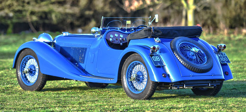 1938 Jaguar SS100 3.5 litre by Leonida & Co For Sale (picture 2 of 6)