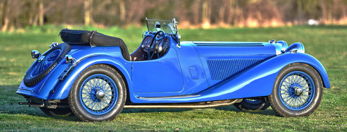 1938 Jaguar SS100 3.5 litre by Leonida & Co For Sale (picture 3 of 6)