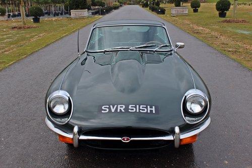 1970 Jaguar E-Type Series 2 4.2 FHC For Sale (picture 5 of 6)