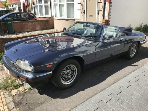 1989 JAG XJS Convertible V12 only 76,000 Miles - JFSH For Sale (picture 3 of 3)