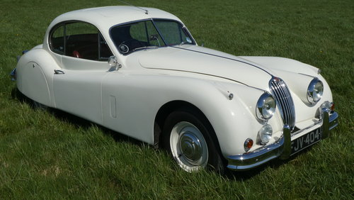 1955 Jaguar XK140 For Sale SOLD (picture 2 of 6)