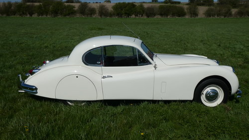 1955 Jaguar XK140 For Sale SOLD (picture 6 of 6)