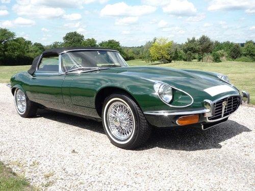 1974 Jaguar E-Type Series 3 V12 Roadster For Sale (picture 1 of 6)