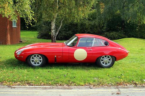 1964 Jaguar E Type FHC ex Tony Shaw Race Car For Sale (picture 1 of 6)