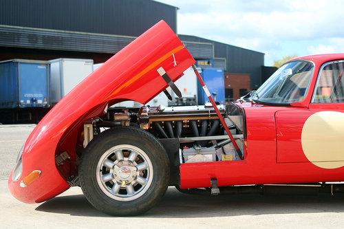 1964 Jaguar E Type FHC ex Tony Shaw Race Car For Sale (picture 6 of 6)