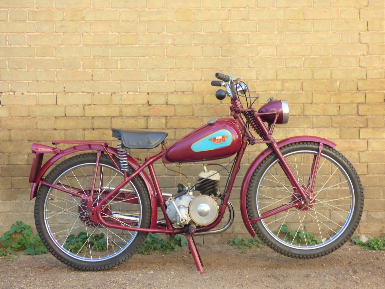 1952 James Comet 98cc SOLD (picture 1 of 6)