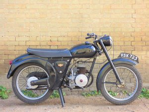 1958 James L15 Cadet 150cc SOLD