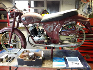 James flying cadet 1962 stalled restoration For Sale
