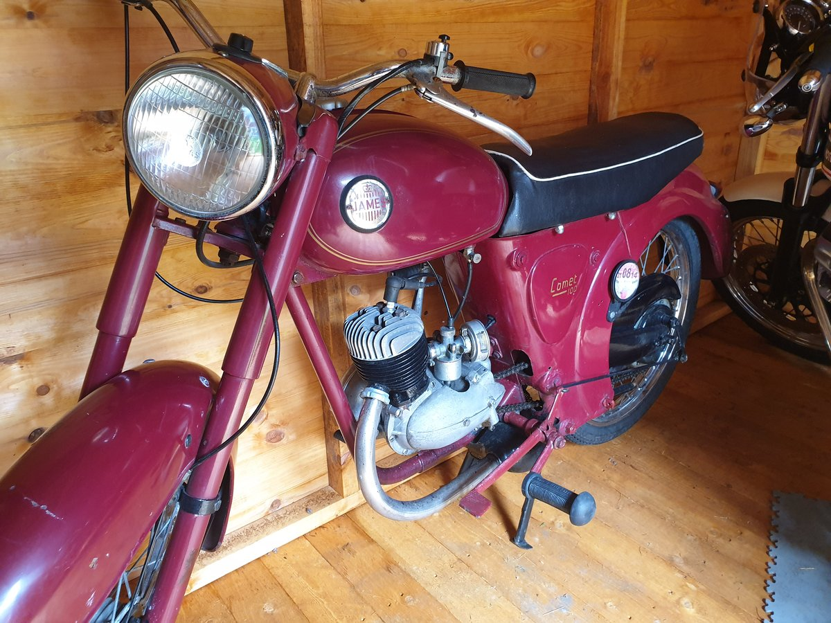 James Comet 98cc Villiers 1958 Ride or Restore For Sale   Car And