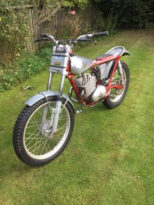 1963 James 250  trials