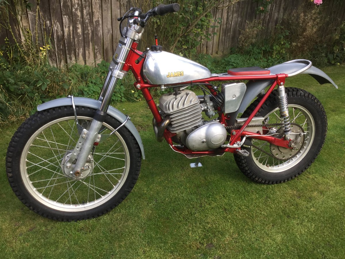 1963 James 250  trials SOLD (picture 2 of 6)