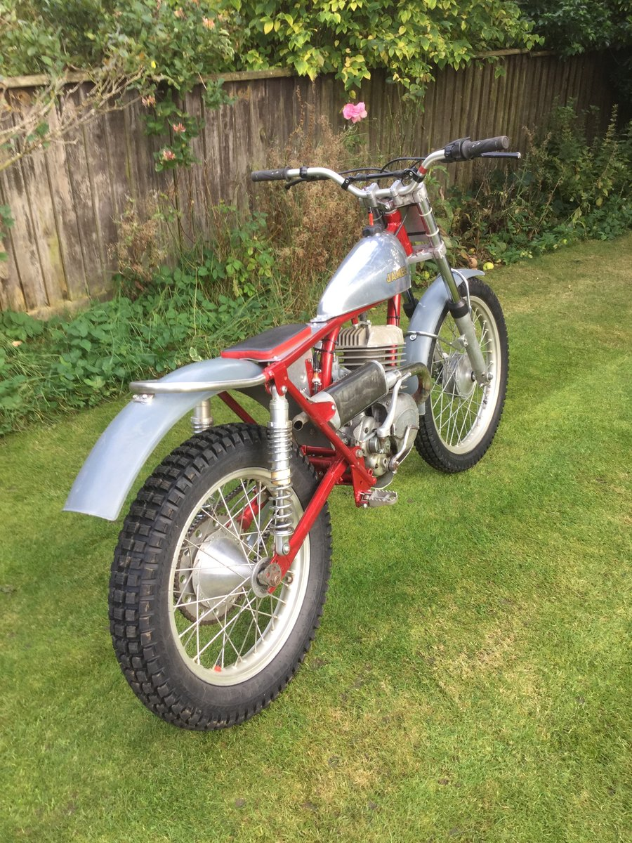 1963 James 250  trials SOLD (picture 4 of 6)