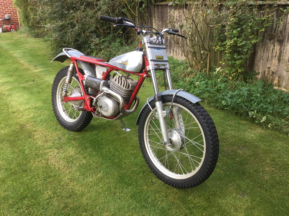 1963 James 250  trials SOLD (picture 6 of 6)
