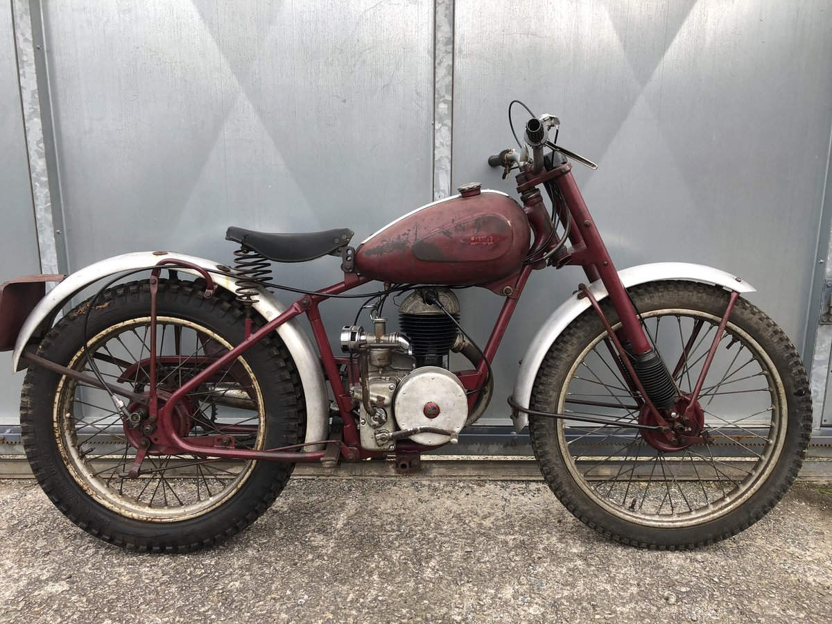 1955 JAMES GENUINE RIGID TRIALS PRE 65 RIGID ROAD REGD V5 £4995 O For Sale (picture 5 of 6)