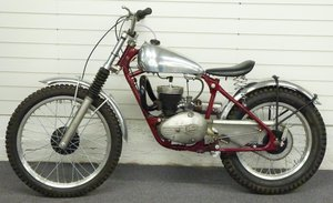 1950s James 197cc Villiers engined trials motorcycle