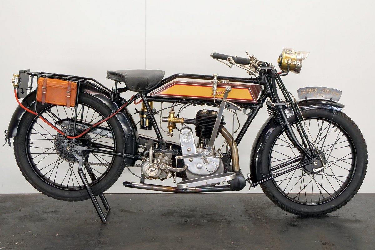 James Model 6hp 1925 600cc 1 cyl sv For Sale (picture 1 of 6)