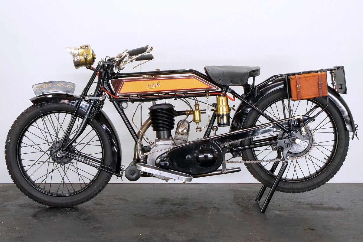 James Model 6hp 1925 600cc 1 cyl sv For Sale (picture 2 of 6)