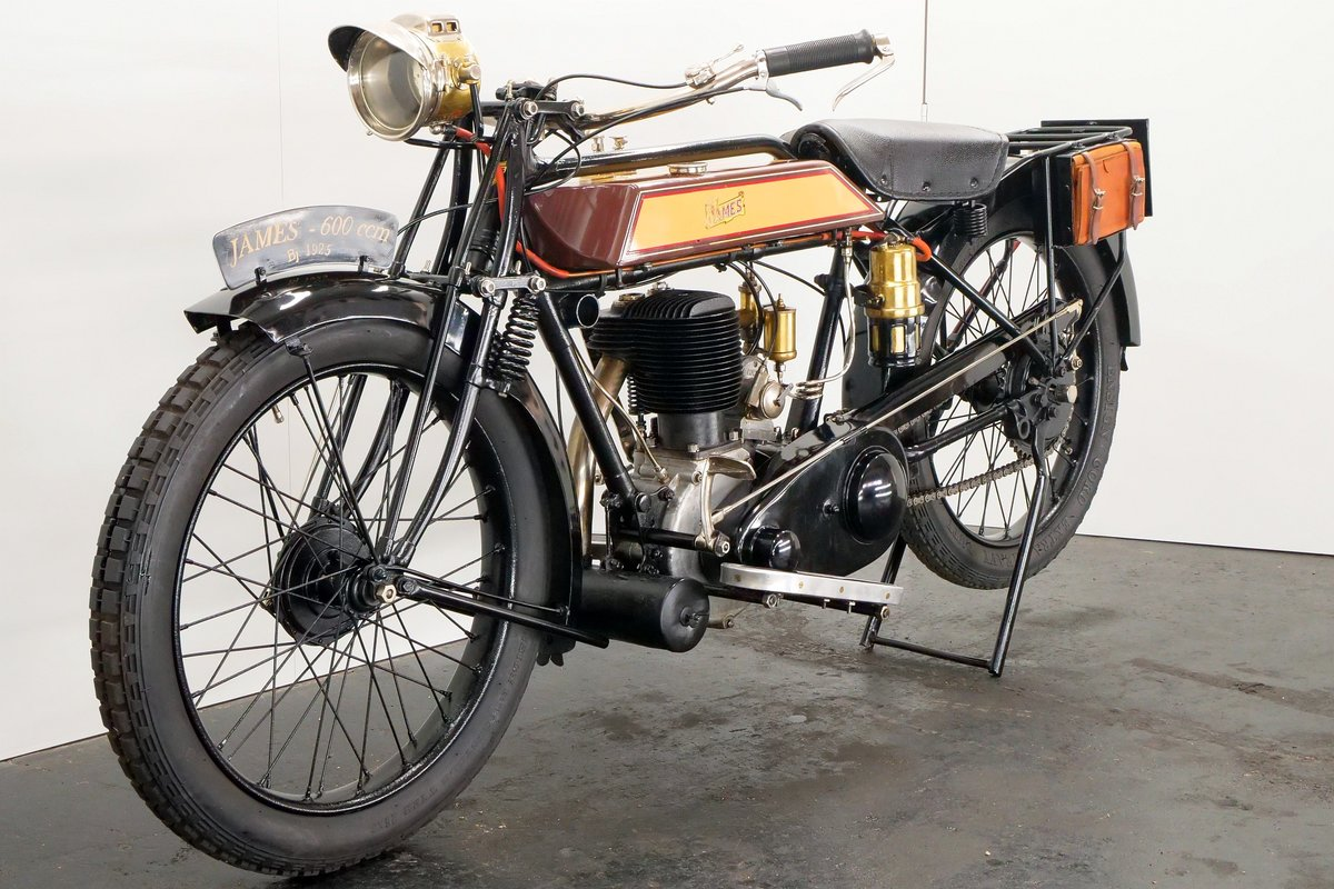 James Model 6hp 1925 600cc 1 cyl sv For Sale (picture 3 of 6)