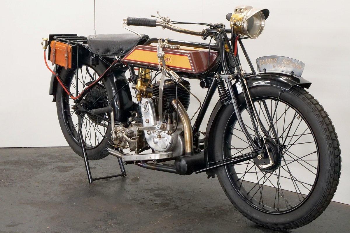 James Model 6hp 1925 600cc 1 cyl sv For Sale (picture 4 of 6)