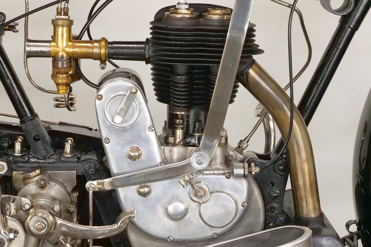 James Model 6hp 1925 600cc 1 cyl sv For Sale (picture 5 of 6)