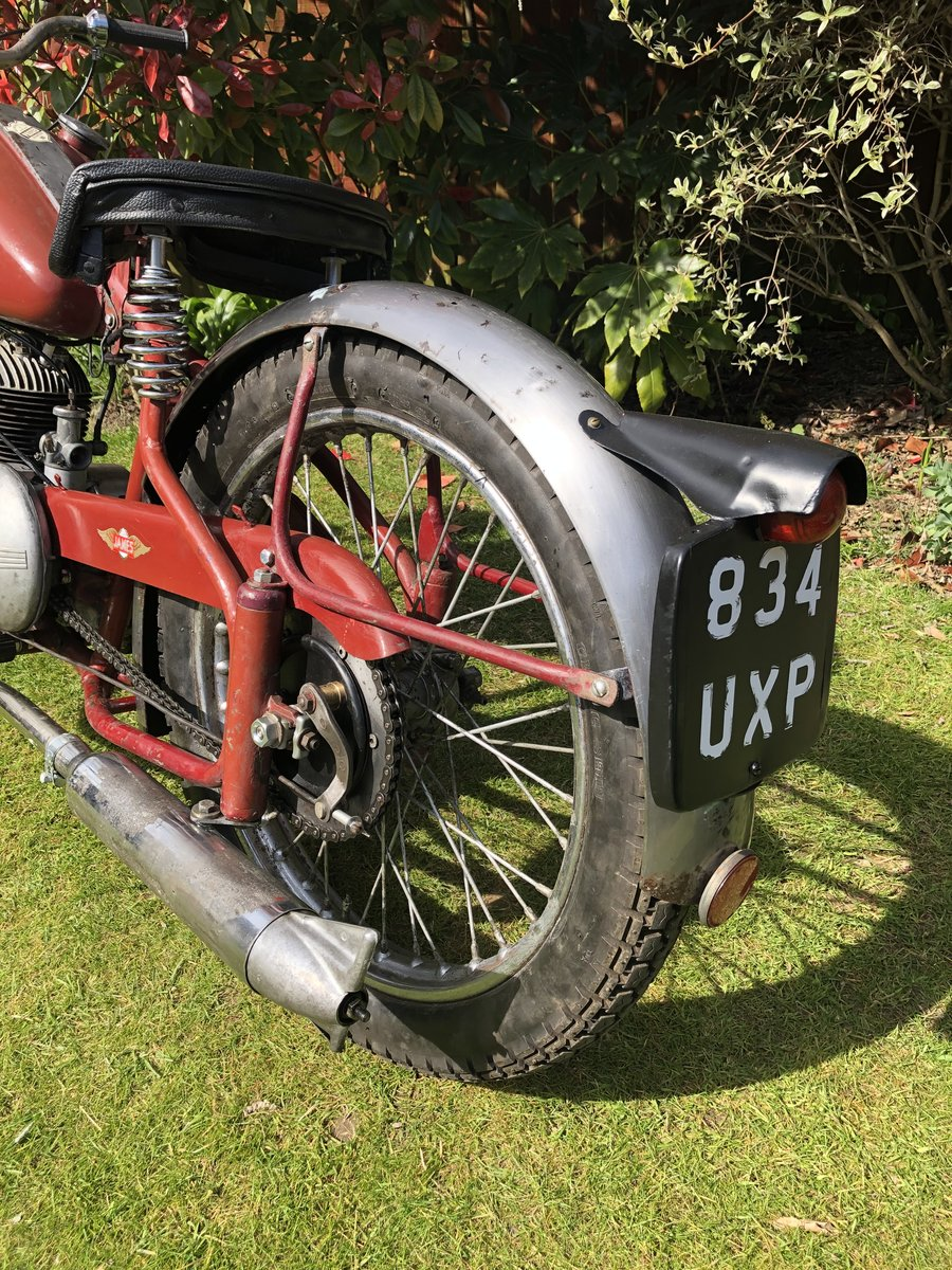 1954 James Cadet  122cc, Classic 50's Lightweight. For Sale (picture 2 of 6)