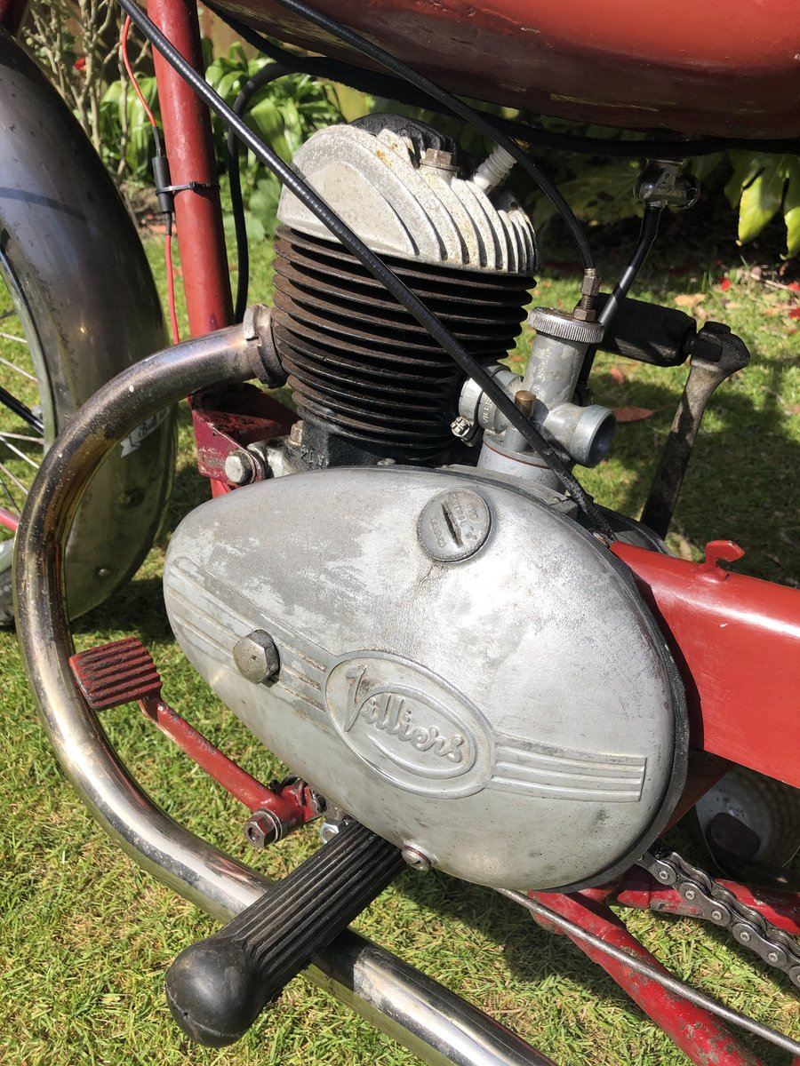 1954 James Cadet  122cc, Classic 50's Lightweight. For Sale (picture 4 of 6)