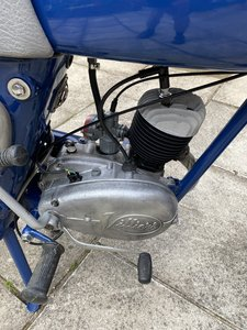 Picture of 1960 James Comet Classic lightweight 2 stroke