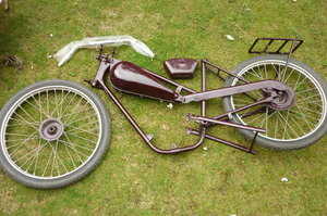 james autocycle abandoned restoration