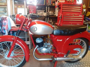 Picture of 1963 James comet, rare 2 seat model