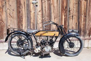 Picture of James 750 cc 1923
