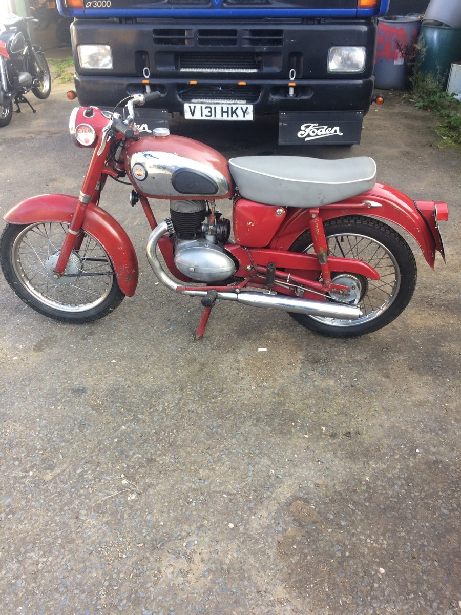 1958 James Captain 197cc For Sale (picture 1 of 5)